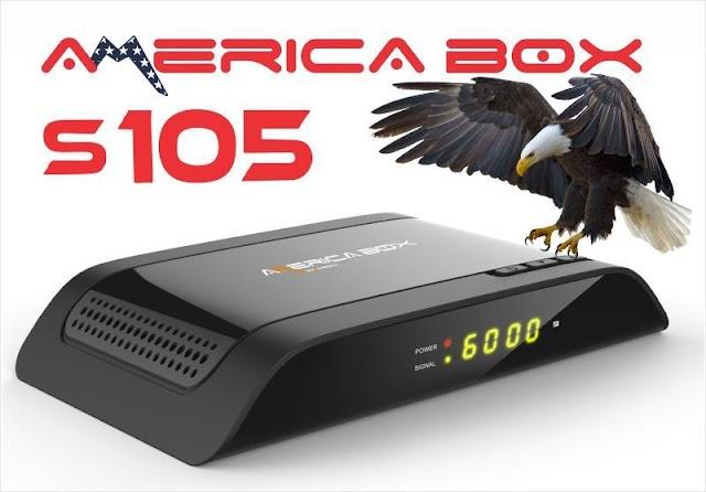 AMERICABOX S105 NOVA ATUALIZAÇÀO V2.61 - 10/09/2021
