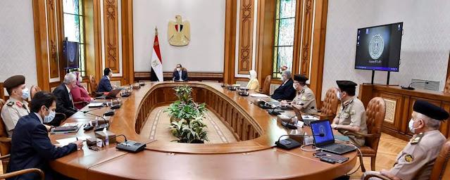 """الرئيس السيسي يتابع لموقف التنفيذي لإقامة """"منظومة متكاملة لإنتاج الأطراف الصناعية في مصر"""""""