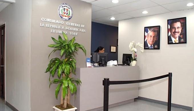 Consulado de RD en Nueva York cerrará este lunes 23 por coronavirus y atenderá casos de emergencias