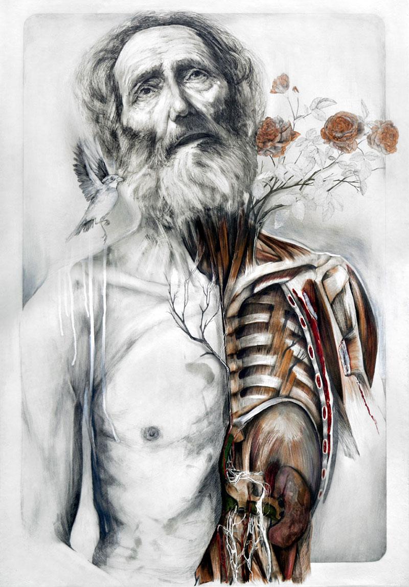 Asombroso Dali Picasso Van Gogh Cartel De La Anatomía Ilustración ...