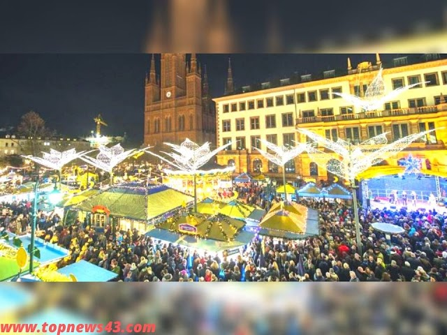 Limburg, Wiesbaden, Bad Vilbel And More - Christmas Markets In The Region