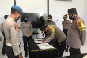Polres Kep Selayar Laksanakan Penandatangan Fakta Integritas Calon Bintara Polri Tahun 2020