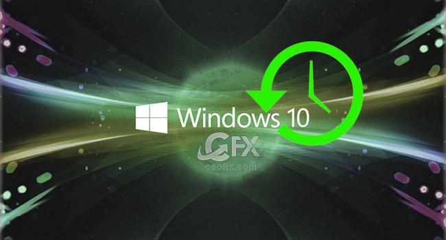 Windows 10'da Sistem Geri Yükleme - www.ceofix.com