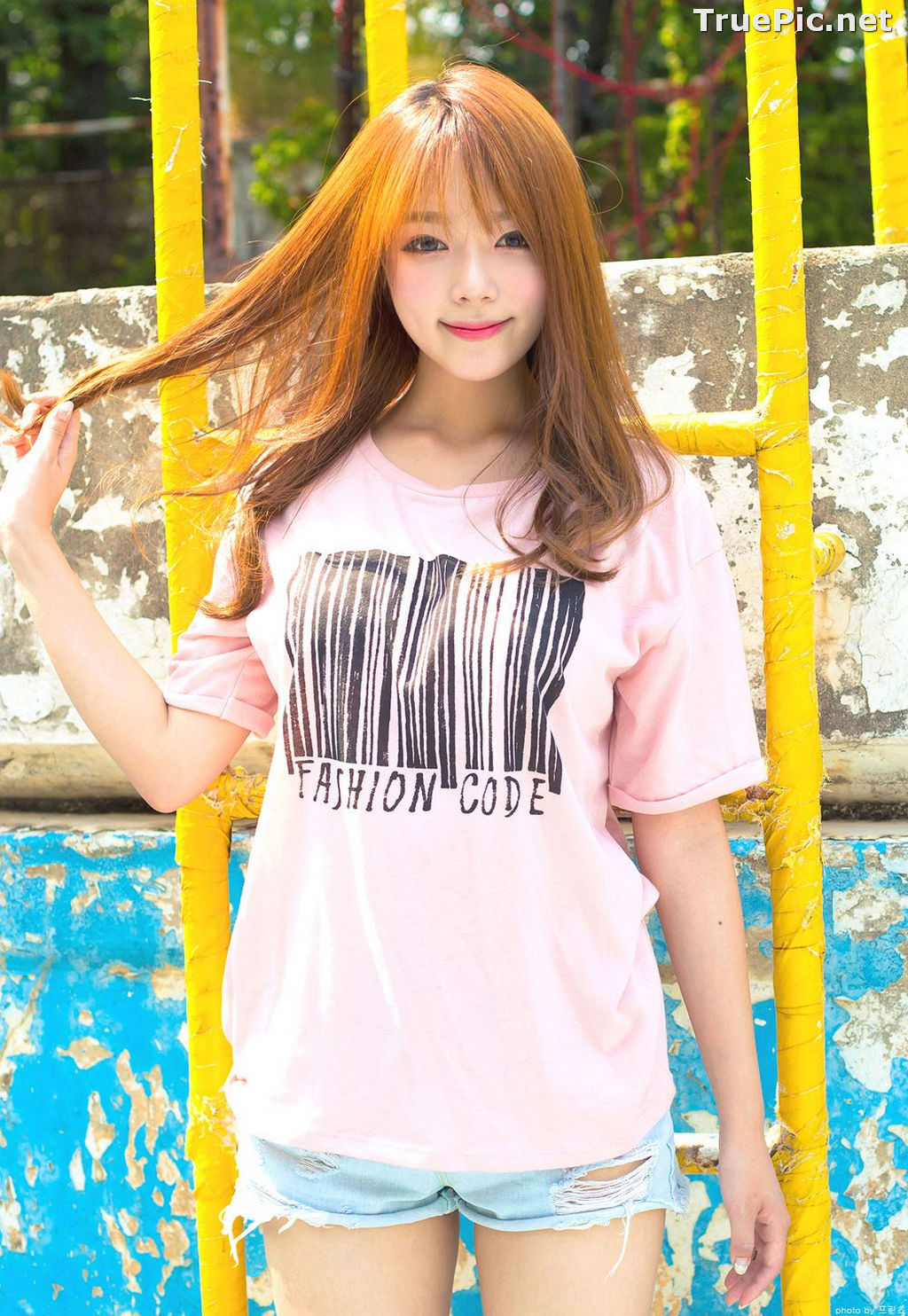Image Korean Cute Model - Ji Yeon - You Can Follow Me - TruePic.net - Picture-9