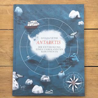 """""""Antarktis - Die Entdeckung eines unbekannten Kontinents"""" von Giulia Vetri, erschienen im E.A. Seemann Verlag"""