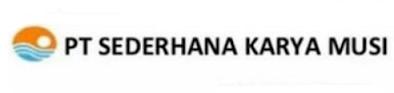 LOKER MASINIS & BARGE MASTER PT. SEDERHANA KARYA MUSI PALEMBANG DESEMBER 2020