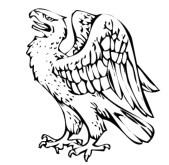 Blason escudo de armas aguila juego de tronos  significado heraldica