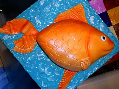 Cook From The Book Goldfish Cake