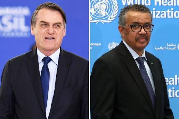 OMS deixa Brasil de fora de aliança sobre acesso a tratamentos a covid-19