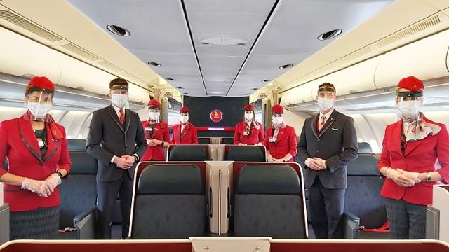 AÉREAS: Turkish Airlines amplia serviços para experiência de voo seguro