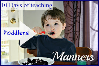 toddler manner how to use a napkin