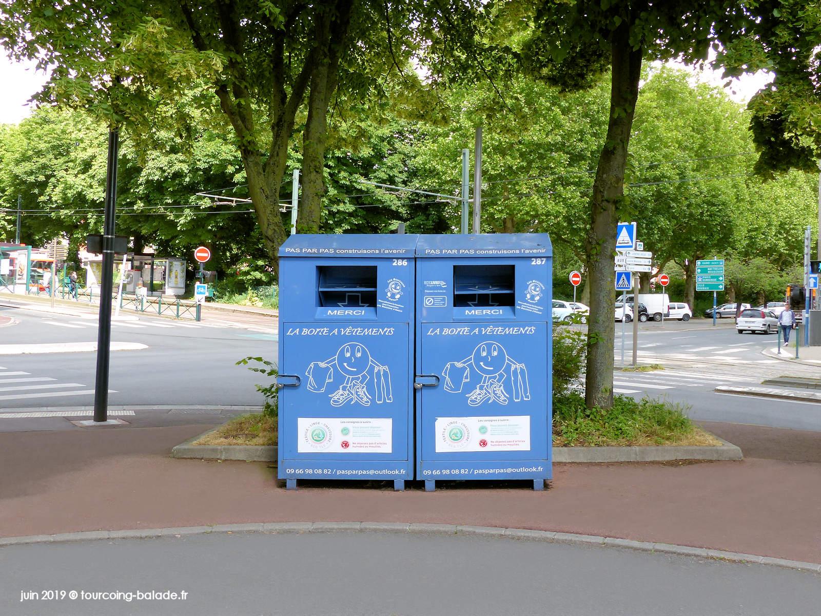 Consigne vêtements récupération - Tourcoing Victoire Pompidou