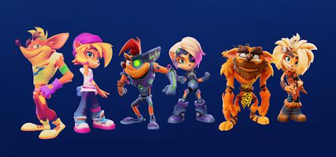 les skins Crash et Coco offertes pour les précommandes de Crash Bandicoot 4