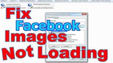 Facebook Photos Not Loading