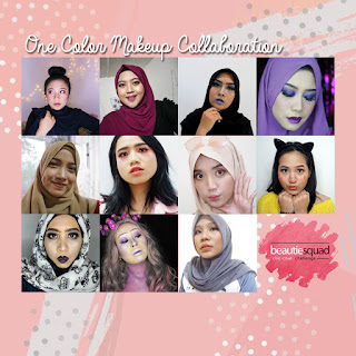 [BEAUTY COLLAB] ONE COLOR MAKEUP COLLABORATION