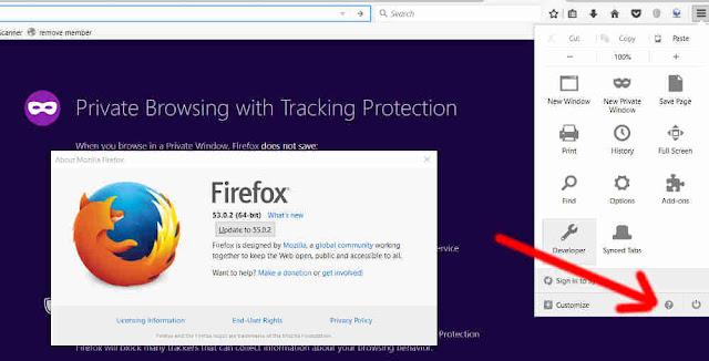 update versi terbaru untuk Mengatasi Mozila Firefox Keluar Sendiri Terus