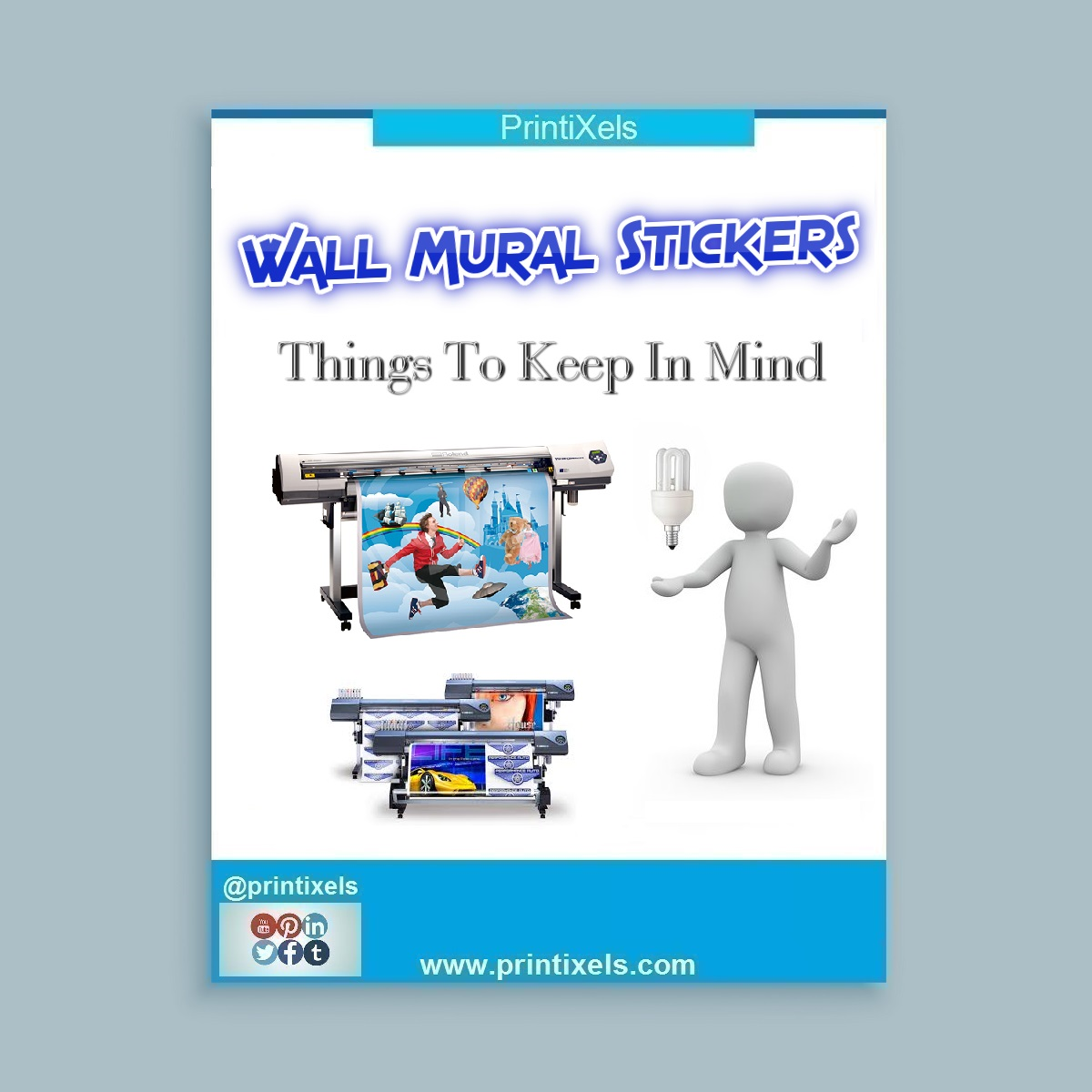 Printing Wall Mural Stickers: Things To Keep In Mind