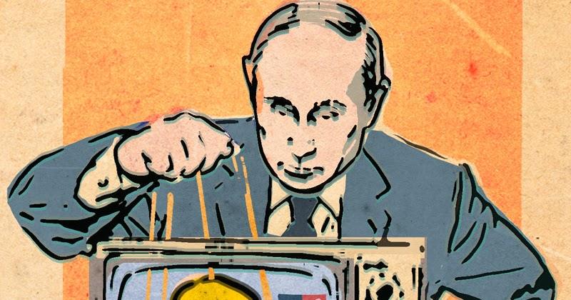 ZINA SAUNDERS BLOG: Putin's Puppet, Donald Trump