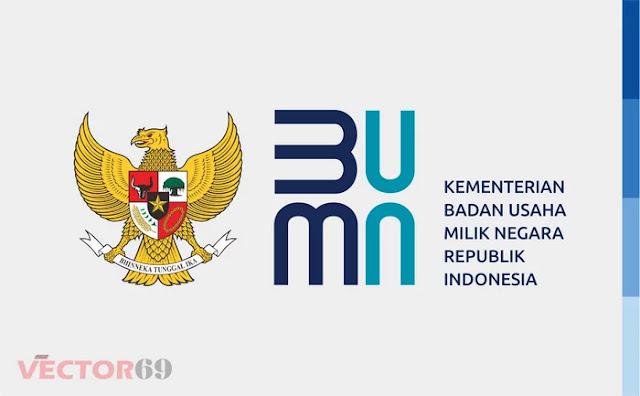 Logo Kementerian BUMN Republik Indonesia (Baru 2020) - Download Vector File EPS (Encapsulated PostScript)