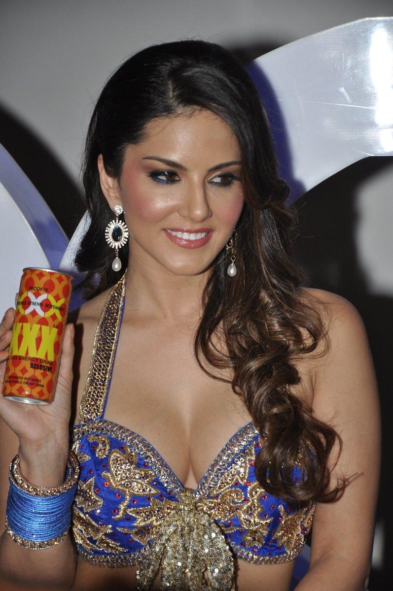 Sunny Leone Launches New XXX Energy Drink. | celebsphotos