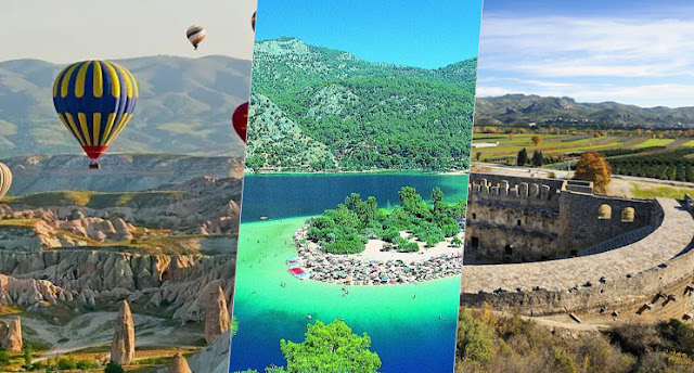 Top attractions in Turkey