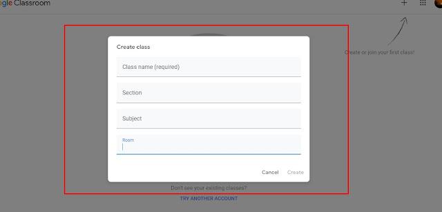 Membuat Kelas Pada Google Classroom
