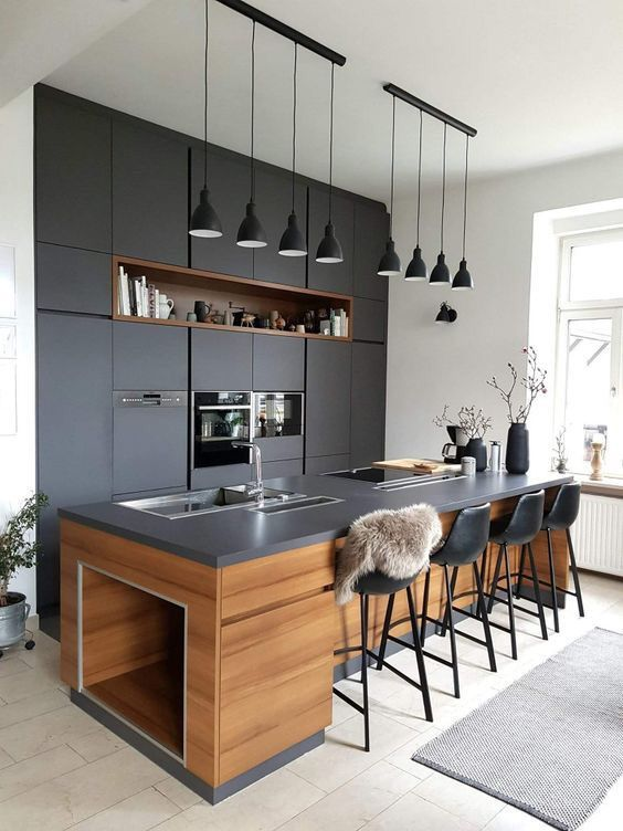 A Healthy Lifestyle Begins in a Stylish Kitchen