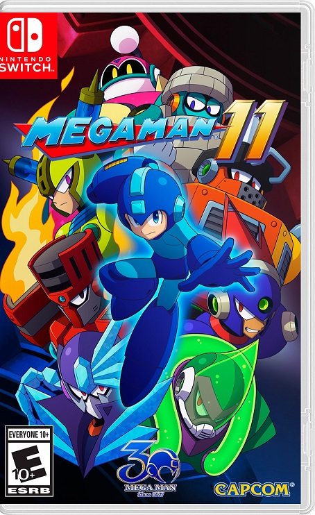 Mega Man 11 NSP Switch