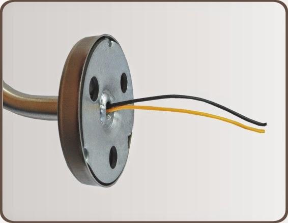 Treppenbeleuchtung mit Handlauf - Zuleitung über Handlauf-Halter