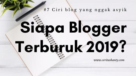 blogger terburuk 2019