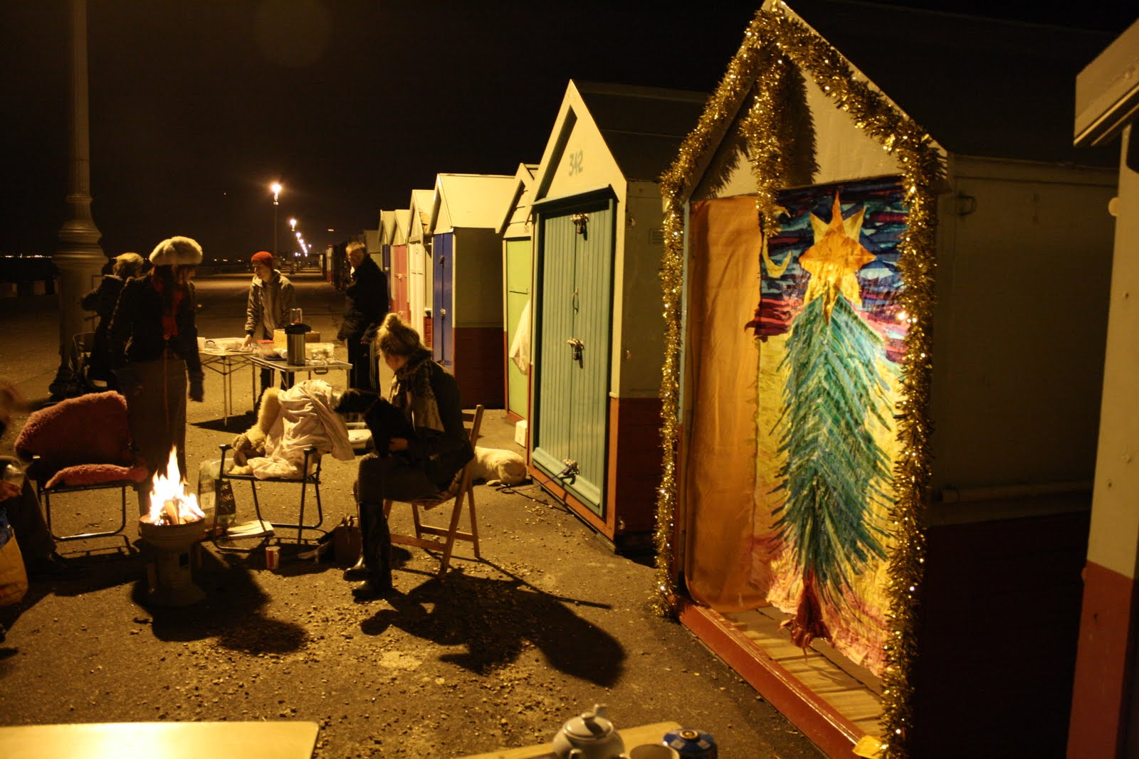Beach Hut Nativity