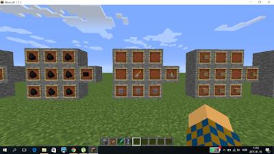 Minecraft crafting főző állvány
