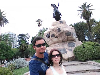 Monumento na Plaza San Martín.