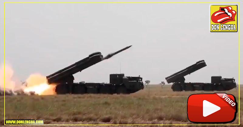 Ejército Bolivariano presenta misiles que alcanzan miserables 90 kilómetros!