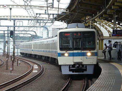 【ダイヤ乱れ!】8000形の各駅停車 町田行き