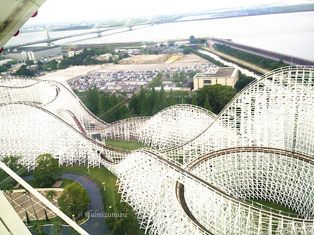 White Cyclone Nagashima Spaland Japan