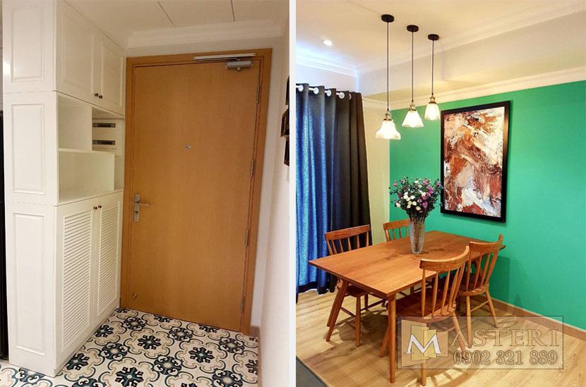 Cho thuê căn hộ Masteri tòa T1 tầng 38 với 3 phòng ngủ  - hinh 3