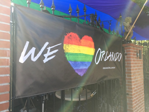 We Love Orlando LGBTQ banner The Abbey