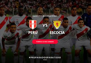 Peru vs Escocia en Vivo