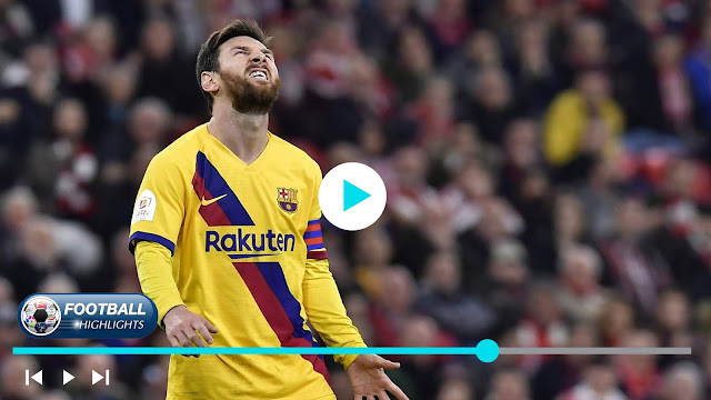 Athletic Club vs Barcelona – Highlights
