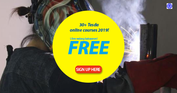 58+ Tesda Online Courses in 2019 (FREE TRAINING)