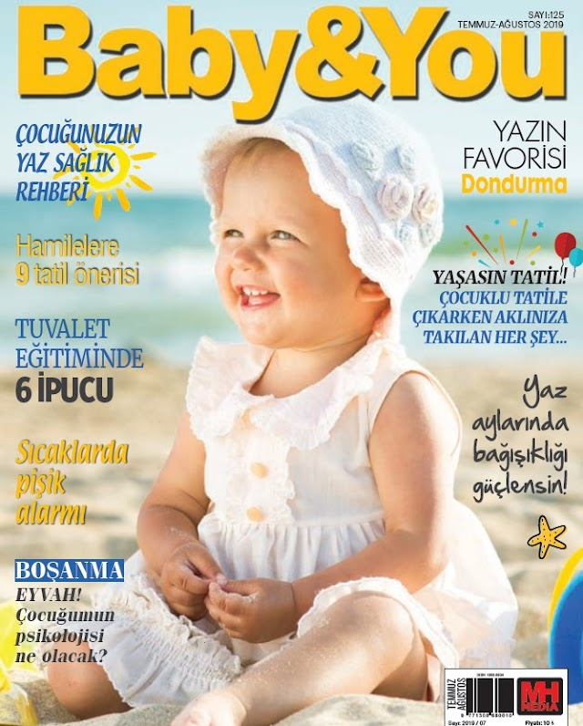 Baby&You Temmuz 2019 Dergi PDF indir
