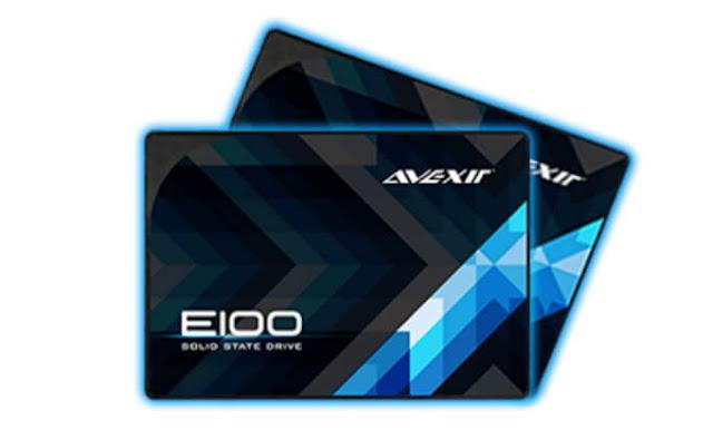 Penyimpanan Avexir SSD E100 Series 120GB