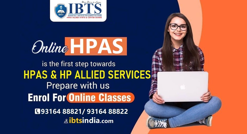 Best Online Coaching for HPAS Exam - IBTS Institute