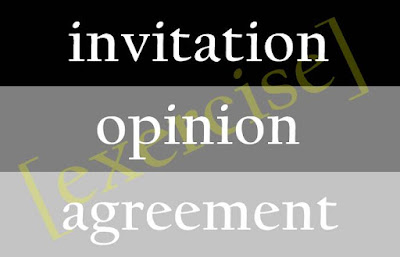 Soal Materi Invitation, Opinion, Agreement and Disagreement