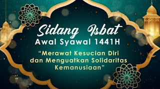 Sidang isbat awal Syawal 1441 Hijriah