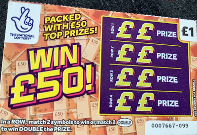 Win £50! Scratchcard