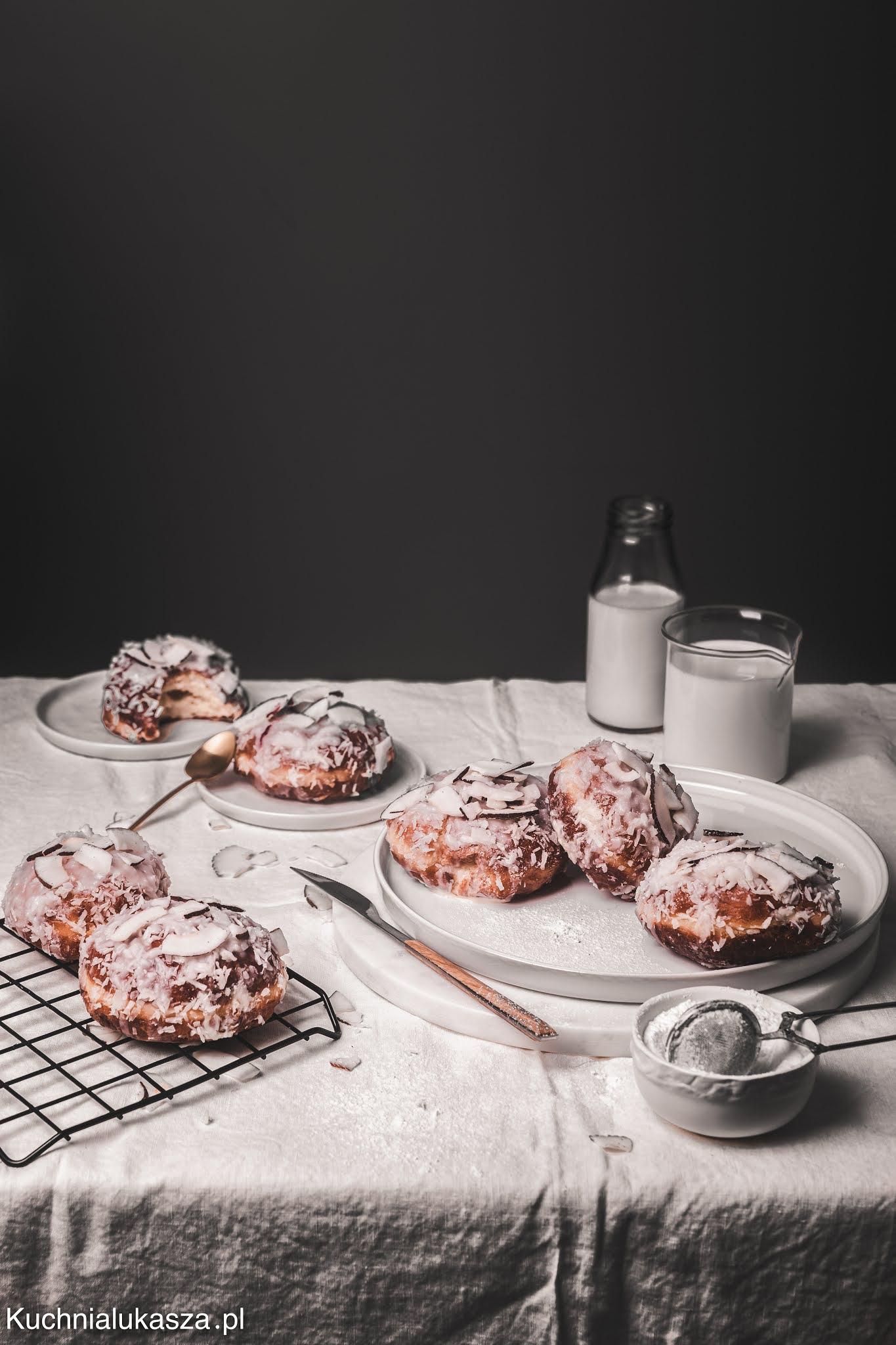 Pączki kokosowe a la Raffaello przepis