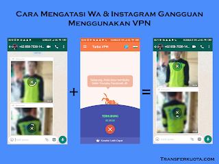 Whatsapp dan Instagram Gangguan Begini Solusinya