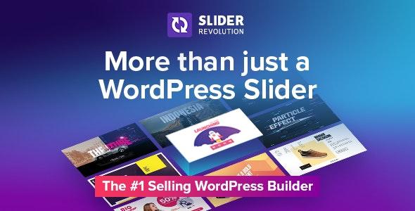 Slider Revolution v6.4.8 + Addons